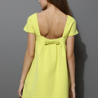 Bowknot Back Dolly Dress