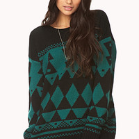 Geo Boyfriend Sweater