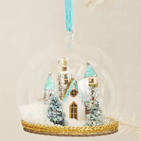 Castle Globe Ornament