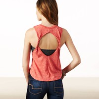 AE TWISTED BACK MUSCLE TANK