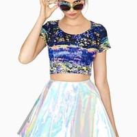 Shady Meadows Crop Top