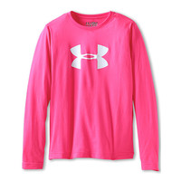 Under Armour Kids UA Big Logo Tech L/S (Big Kids)