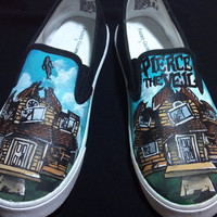 Pierce the Veil Collide with the Sky Custom Shoes