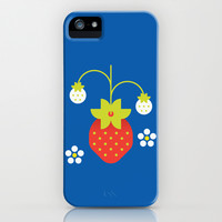 Fruit: Strawberry iPhone & iPod Case by Christopher Dina
