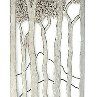 Walk in the Woods by Bernard Collin: Metal Wall Art | Artful Home