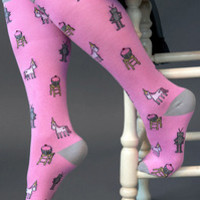 Socks by Sock Dreams » .Socks » Knee Highs » Tri Fecta of All That is Awesome Knee High