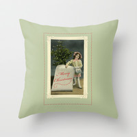 To My Angel Throw Pillow by Vikki Salmela