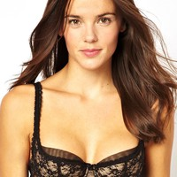 Von Follies By Dita Von Teese Sheer Witchery Balconette Bra