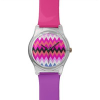 Zigzag Wrist Watch For Girls