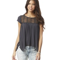 Diamond Lace-Back Top - Aeropostale