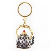 MacKenzie-Childs - Tea Kettle Key Ring