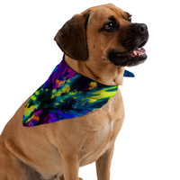 Caleb Troy Bat Crazy Clouds Pet Bandana