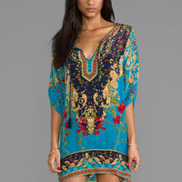 Tolani Chloe Dress in Turquoise