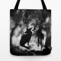 secrets and shadows Tote Bag by Marianna Tankelevich