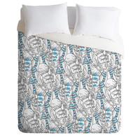 Geronimo Studio Jay Feathers Duvet Cover