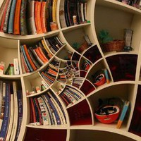 Seemingly Impossible Spiral Bookcase Designs | Designs &amp; Ideas on Dornob