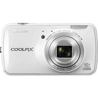 Nikon - Coolpix S800c 16.0-Megapixel Digital Camera - White