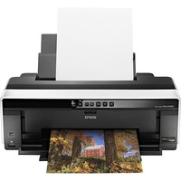 Epson - Stylus Photo R2000 Network-Ready Wireless Photo Printer