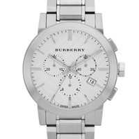 Jewelry & Accessories | Best Sellers | Men's Stainless Steel Large Chronograph Watch | Lord and Taylor