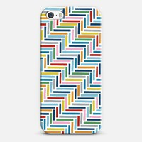 Herringbone 45 Colour iPhone & iPod case by Project M | Casetagram
