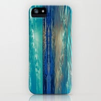 FANTA-SEA IN BLUE iPhone & iPod Case by catspaws