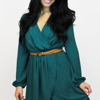 Take Me to Town Dress in Teal | Ya Los Angeles