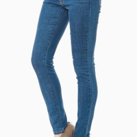 MADISON SKINNY JEANS IN TRUE BLUE