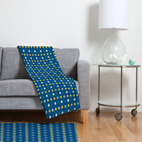 Caroline Okun Amos Fleece Throw Blanket