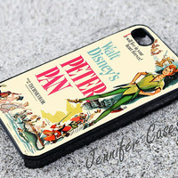 Peter Pan Walt Disney Classic Case for iPhone 5S, iPhone 5C , iPhone 5,iPhone 4S , iPhone 4, Galaxy S3 or Galaxy S4 -Handmade Designed Case