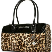 Lux de Ville Atomic Tote Black and Leopard Accessories Purses at Broken Cherry