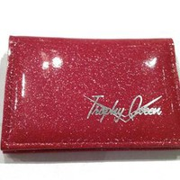 Trophy Queen ID Wallet Pink Accessories Wallets - Dames at Broken Cherry