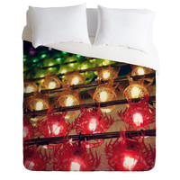 Catherine McDonald Rainbow Lanterns Duvet Cover - BLACK FRIDAY / SMALL BUSINESS SATURDAY / CYBER MONDAY SALE!