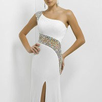 One Shoulder by Blush by Alexia