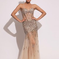 Jovani 79107 Dress at Peaches Boutique