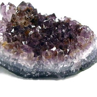 "Raw Amethyst Crystal Cluster - Approximately 3"" x 2"""