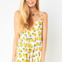 MARKET HQ | Pineapple Playsuit