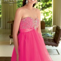 Alyce Short Dress 4310 at Prom Dress Shop