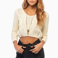 Keep It Laced Sweater $36