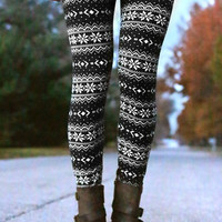 Frosted Holiday Leggings