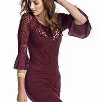Free People City Girl Body Con Dress
