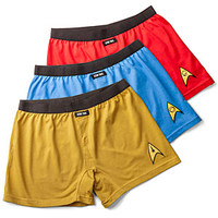 Star Trek Boxer Briefs 3-pack