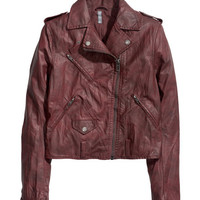 Biker Jacket - from H&M