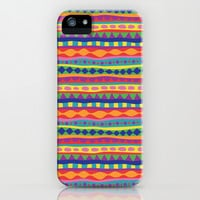 Stripey-Crayon Colors iPhone & iPod Case by Groovity