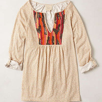 Mixed Media Pullover by Vanessa Virginia Brown Motif Xs Sweaters