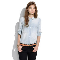 Denim Boyshirt in Saltstone Wash - CHAMBRAY - Women's Madewell_Shop_By_Category - Madewell