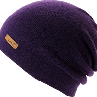 Coal Girls Julietta Purple Slouch Beanie