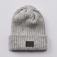 Flatspot - Flatspot AIC Wool Watchcap Light Grey