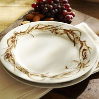 Antler Appetizer Plate, Set of 4