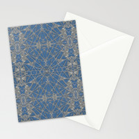 Frozen Blue Stationery Cards by Project M