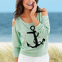 Green (GR) Anchor Sweatshirt